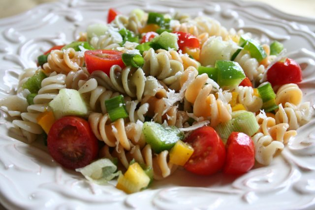 chicken pasta salad recipe has the best of all possible chicken salads ...