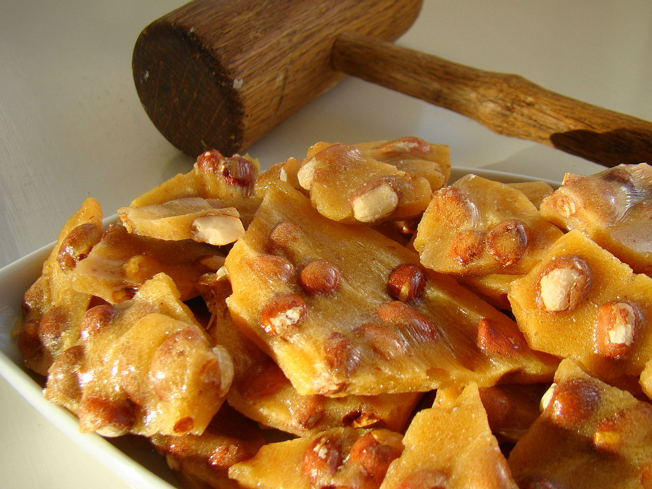 This is absolutely the best peanut brittle recipe ever! Talk about ...