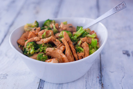 Chicken and Broccoli Skillet Stir-Fry