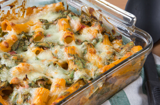 Chicken n' Spinach Pasta Bake