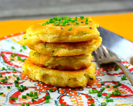 Leftover mashed potato pancakes foodgasm recipes for What to make with leftover applesauce