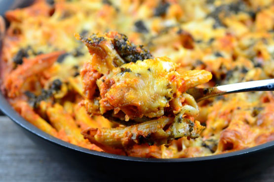 Skillet Baked Ziti - Foodgasm Recipes