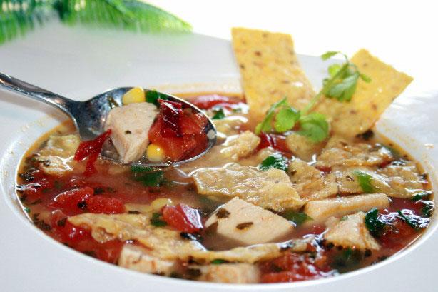 Mexican Chicken Tortilla Soup - Foodgasm Recipes