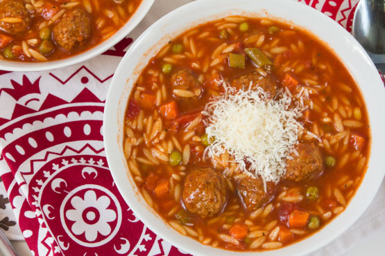 Quick Italian Meatball Soup - Foodgasm Recipes