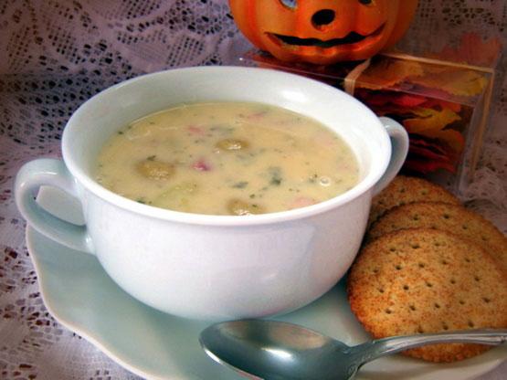 Cheesy Ham Potato Soup