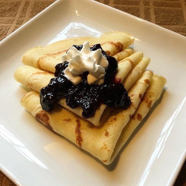 Blueberry Blintzes - Foodgasm Recipes