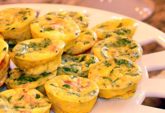 Giada De Laurentiis Mini Frittatas - Foodgasm Recipes