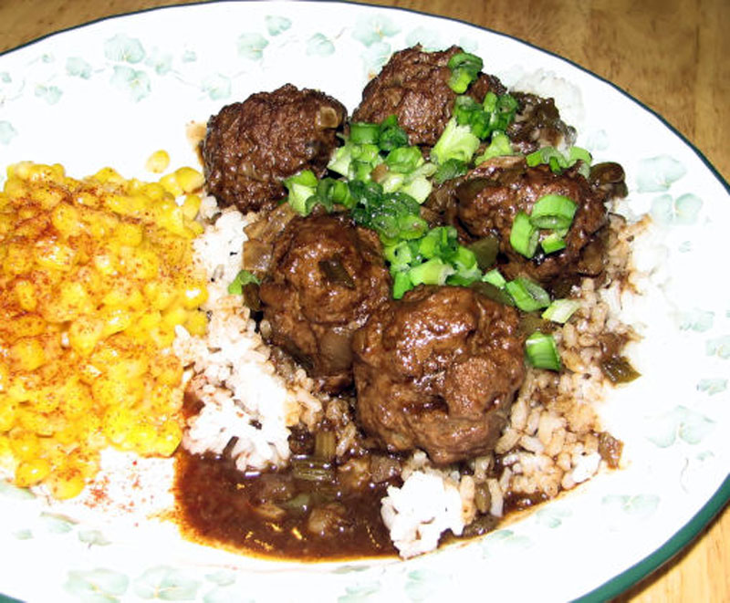 Cajun Meatball Stew Recipe Basic Cajun Cooking Foodgasm Recipes