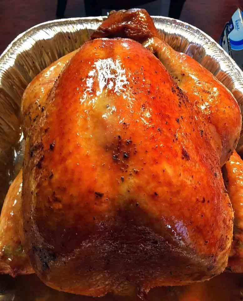 Alton Brown 39 S Brined Turkey Best Thanksgiving Turkey
