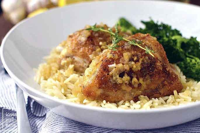 Baked Chicken Rice Recipe