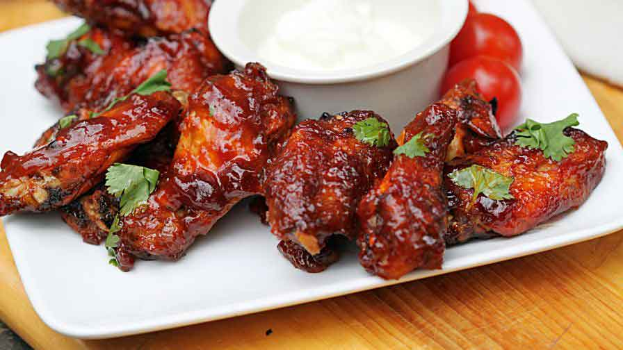 Barbecue Baked Chicken Wings – Convenient Oven BBQ Chicken