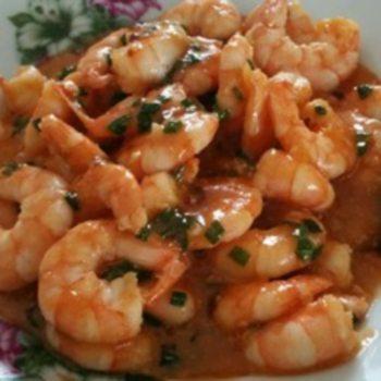 Quick and Easy Szechwan Style Shrimp