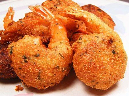 Hush Puppy Fried Shrimp – Easy Peasy