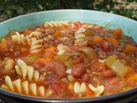 Copycat Olive Garden Pasta E Fagioli Soup In A Crock Pot Foodgasm Recipes