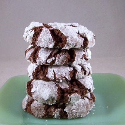 4 Ingredient Fudge Crinkles Foodgasm Recipes