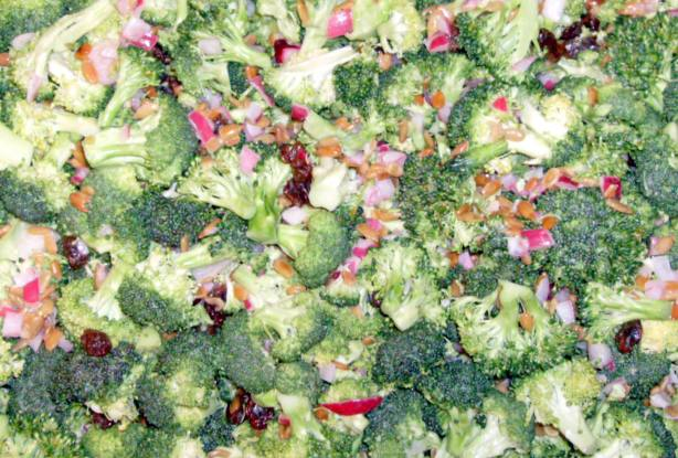 Low Calorie Low Fat Broccoli Salad