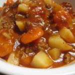 Crock-Pot Ground Beef Stew