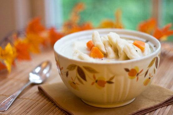 how to make homemade dumplings for soup