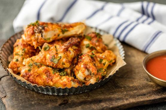 Oven Crisp Chicken Wings Great Taste Foodgasm Recipes