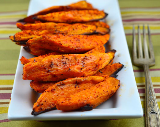 Oven Fried Sweet Potatoes Foodgasm Recipes