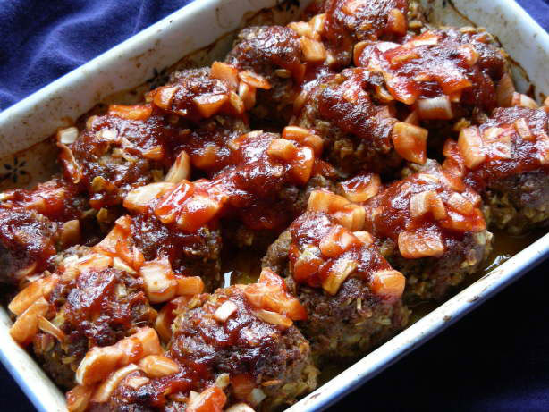 Barbecue Meatballs – Great Party Food