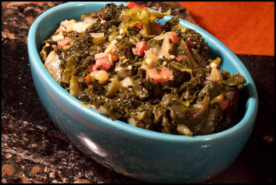 Perfect Southern Greens (Collards, Turnip or Mustard)