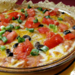 Mexican Mess Bean Dip