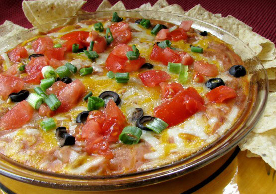 Mexican Mess Bean Dip – Quick, Easy and Good!