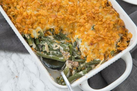 Best Ever Green Bean Casserole – Fresh!
