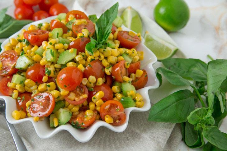 Cherry Tomato & Corn Salad