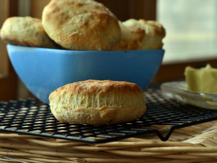 Easy No Shortening Biscuits – Go To Recipe