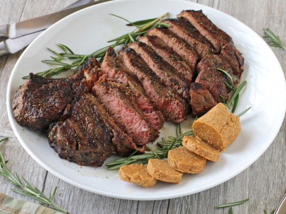 Grilled Porterhouse Steak With Paprika Parmesan Butter Foodgasm Recipes