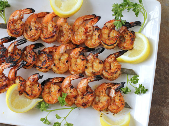 Grilled Shrimp — Mmmm Delicious!