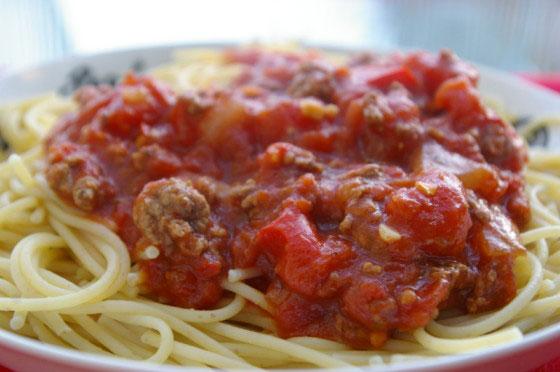 My Crockpot Spaghetti Sauce
