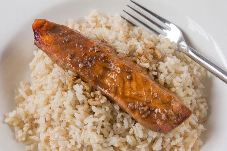 Salmon Teriyaki – Easy In The Microwave