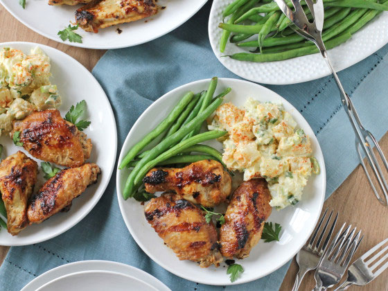 Grilled Chicken Wings – Better Make Extras!