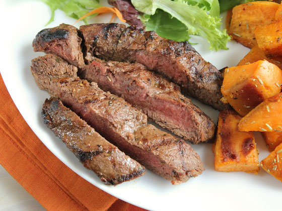 Grilled Flat Iron Steak – Perfect Marinade
