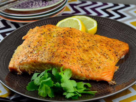 Grilled Salmon – Works With Fresh or Frozen