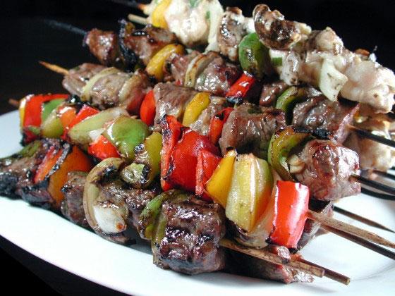 Steak And Chicken Kabobs – Delish On A Stick!