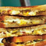 Grilled Cheese With Ham And Pickle