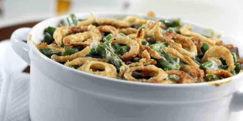 Classic Green Bean Casserole – Campbell's Gold!